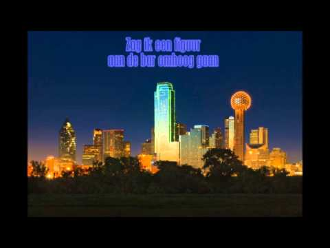 Johnny Lion - Alleen In Dallas (with lyrics on screen)