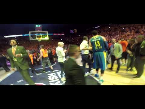2013-14 Euroleague Final Maccabi Electra Championship Celebr