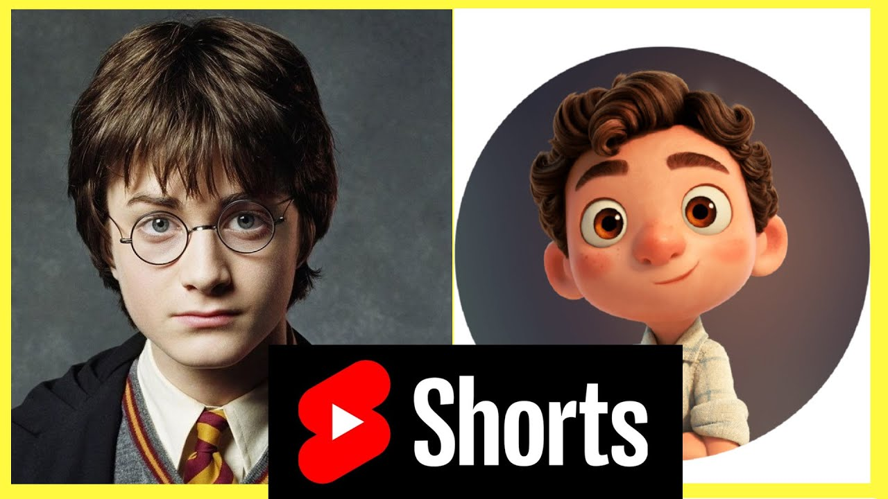 Harry Potter as Luca by magic!