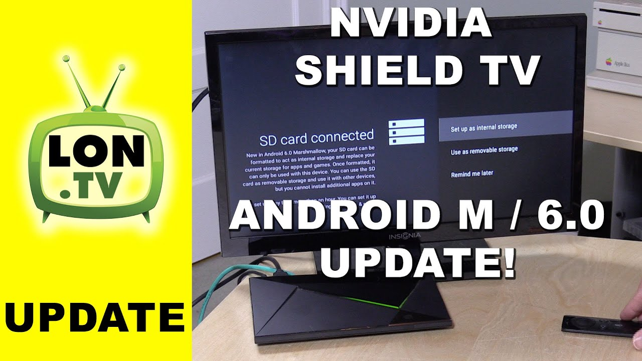 NVIDIA Shield TV and Android M / 6 0 / Marshmallow - External storage / SD  Card warning