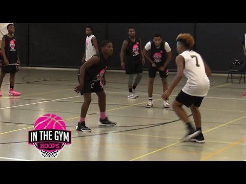 Mike Saunders Jr vs Ramone Woods Go At Each Other in ITGH Top40 Game