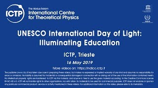 UNESCO International Day of Light: Illuminating Education – Part 3 of 3 thumbnail