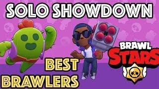 Brawl Stars | Solo Showdown  - ТОП Бролъри, ТОП 10 Tips u0026 Tricks