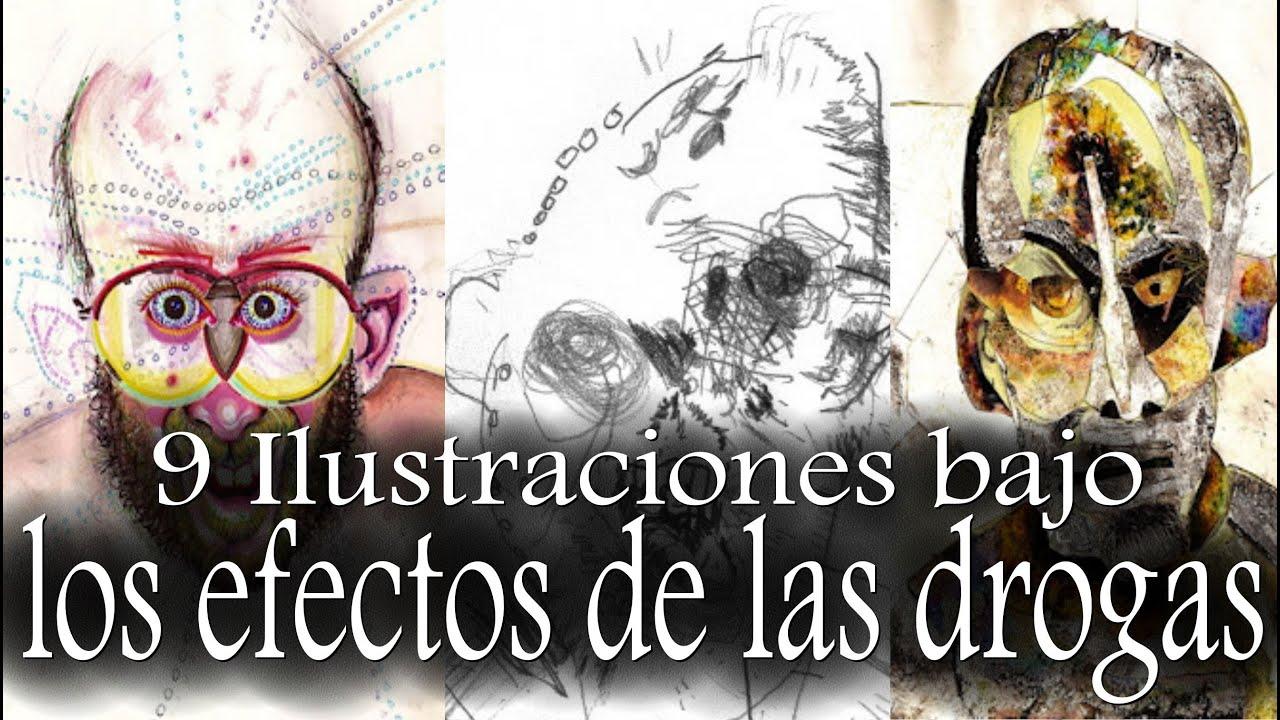 9 Ilustraciones Y Dibujos Bajo Los Efectos De Las Drogas