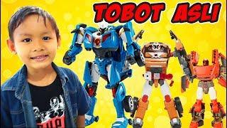 TOBOT Young Toys Di Toys Kingdom, Asli Atau Palsu? | Tobot X Y Z Bahasa Indonesia