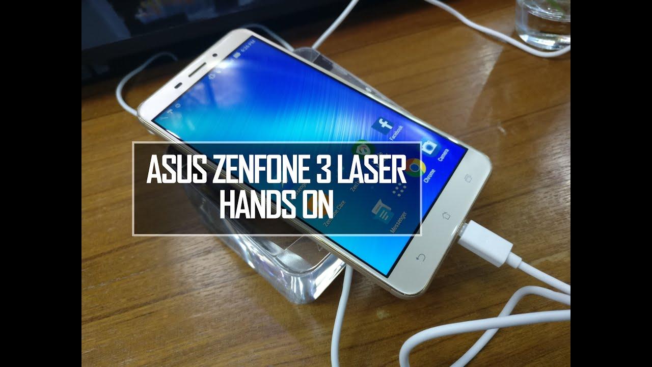 ASUS Zenfone 3 Laser ZC551KL Hands On Review