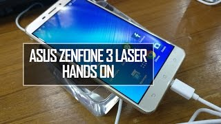 aSUS Zenfone 3 Laser (ZC551KL) Hands On Review  Techniqued