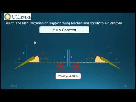 Design and Manufacturing of Flapping Wing Micro Air Vehicles