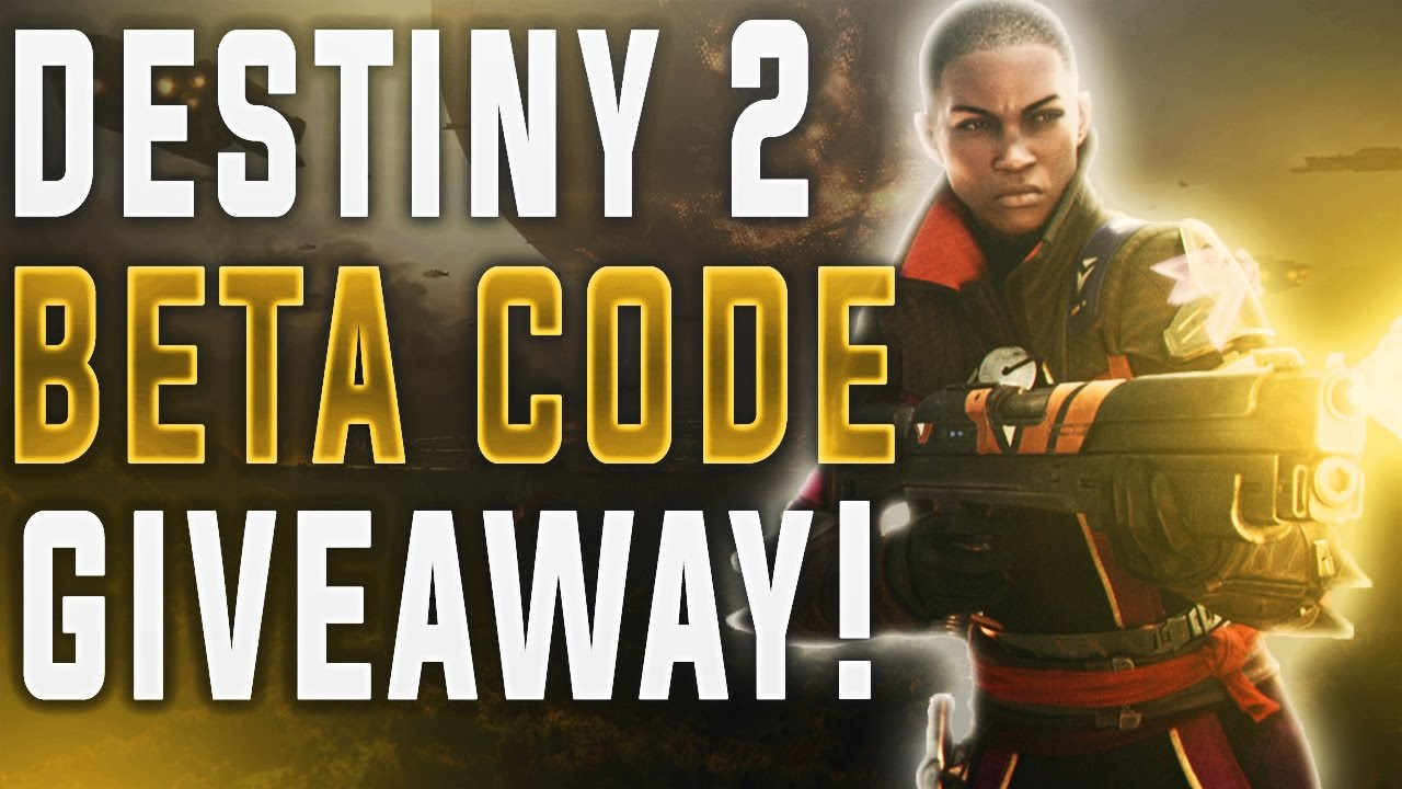 Destiny 2 Amazon Beta Code