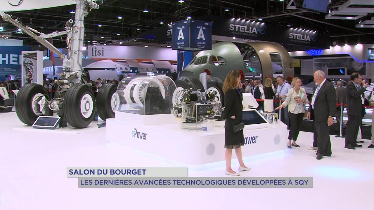 Yvelines | Salon du Bourget 2019 : Les dernières avancées technologiques développées à SQY