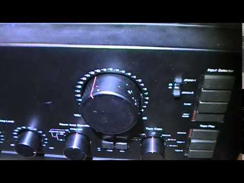 Sansui AU X1 repaired and Restored JAN 2015 NOLAN - YouTube on