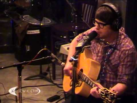 """The Decemberists performing """"Down By The Water"""" on KCRW"""