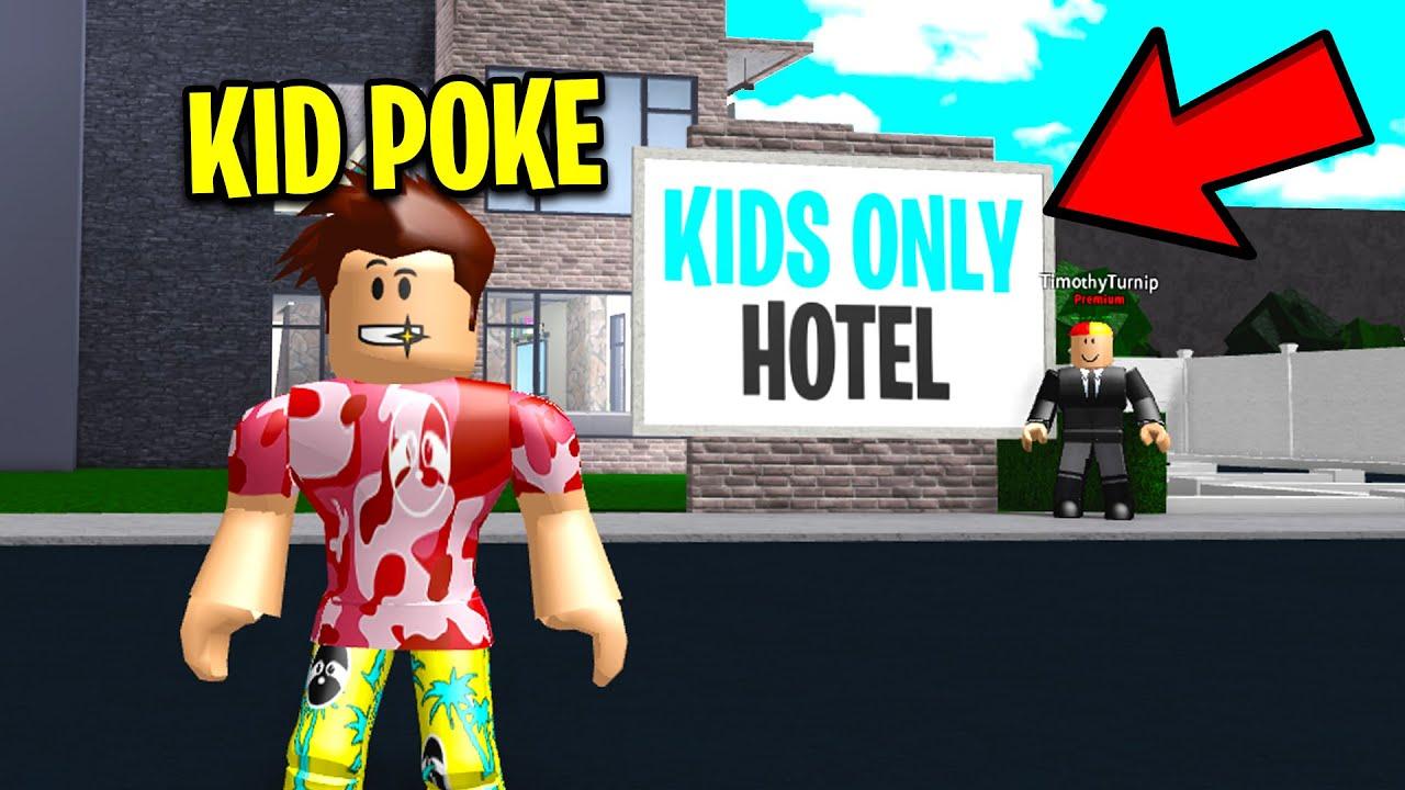 Ich habe in einem KIDS ONLY Hotel gearbeitet. Ich habe ERWACHSENE GEFALLEN. (Roblox) + video