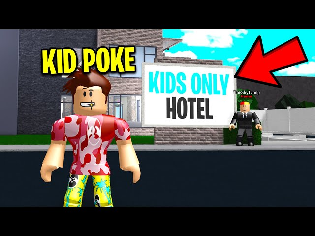 I Worked At An KIDS ONLY Hotel.. I FOUND ADULTS TRAPPED! (Roblox)