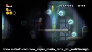 New Super Mario Bros. Wii Walkthrough - World 5 - Ghost House