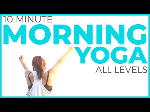 10 minute Mindful Morning Yoga Routine | Sarah Beth Yoga