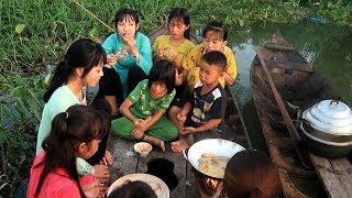 Làm bánh Hương Vị 3 màu từ Khoai Lang Khoai Môn Khoai Tây  | Thôn Nữ Miền Tây Tập 166