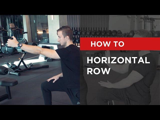 HOW TO: Horizontal Row