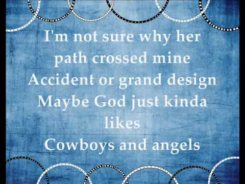 Cowboys and Angels - Dustin Lynch (Lyrics)