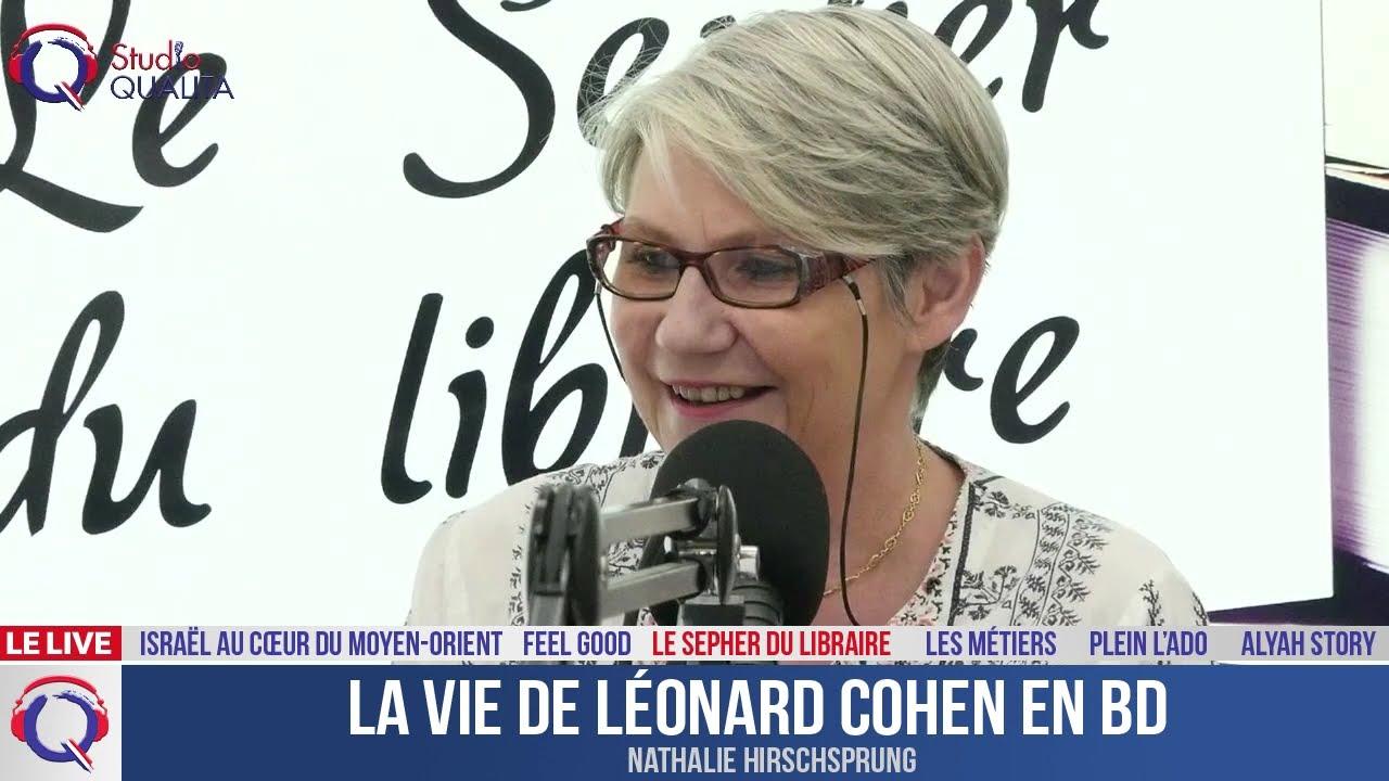 La vie de Léonard Cohen en BD - Le Sepher du Libraire#104