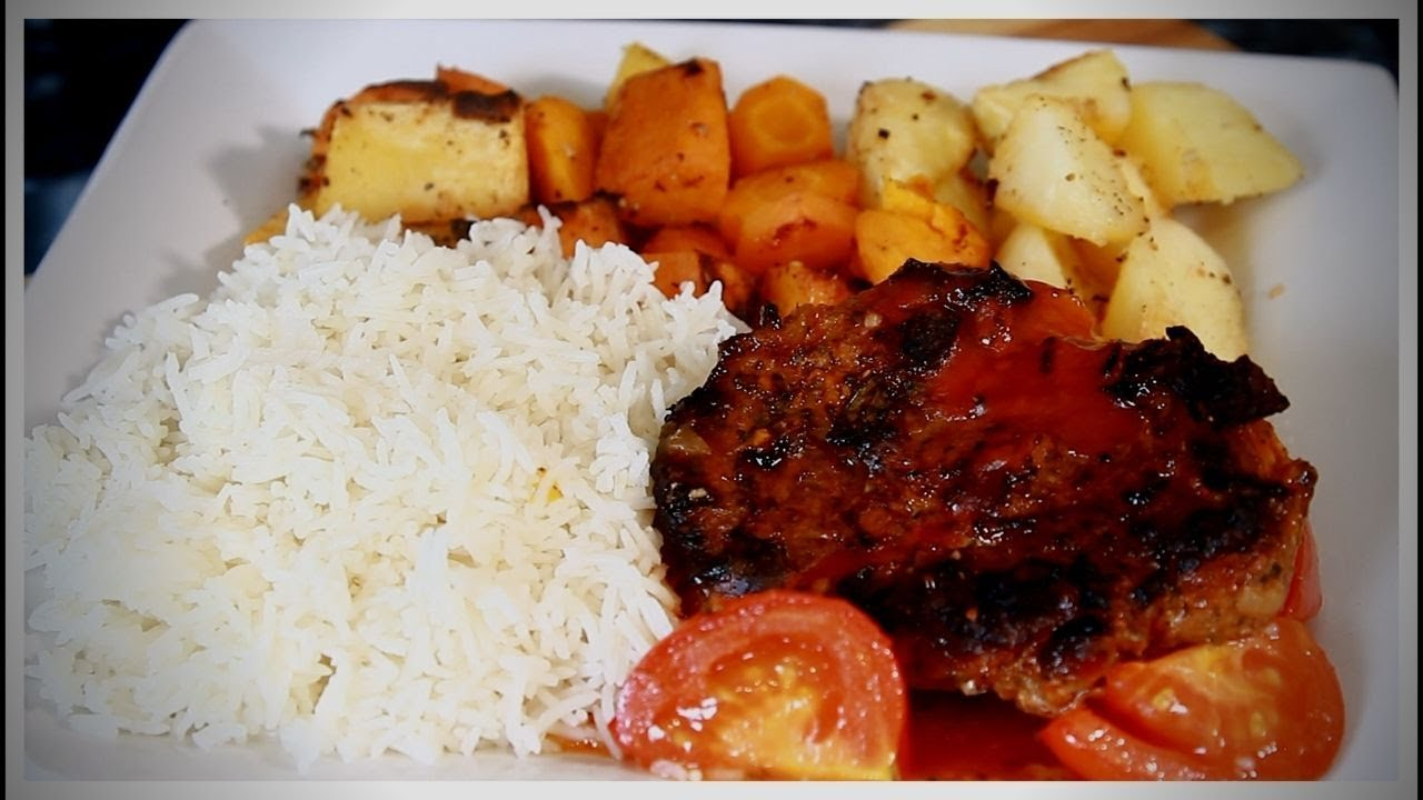 Sunday Dinner Roast | With Potatoes & Vegetable + Rice  | Chef Ricardo Cooking #Sunday #Dinner
