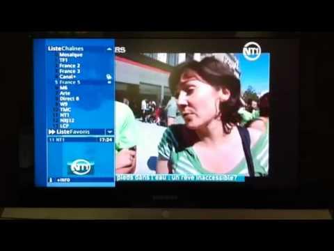 Liste des chaînes du service TV de SFR
