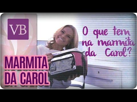 O que tem na marmita da Carol? Frango recheado com legumes ao forno - Você Bonita (13/09/16)