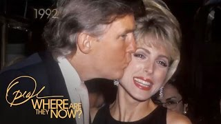 Marla Maples' True Feelings About Donald Trump l Where Are They Now l Oprah Winfrey Network