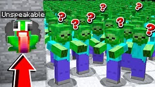 SURVIVING A ZOMBIE APOCALYPSE IN MINECRAFT PE!