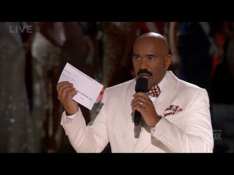 Steve Harvey, You Are Not Alone! See the Worst Ever Pageant Blunders