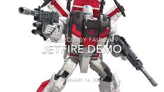Toy Fair 2019 Jetfire Demo