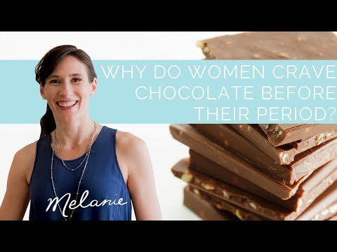 Craving chocolate before your period? Dietitian explains why | Nourish with Melanie #2