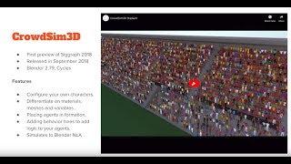 Crowd Sim 3D