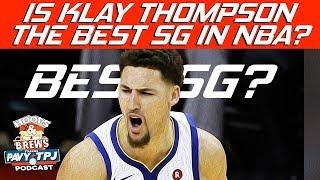 Klay Best SG in NBA?   Derrick Rose HOFer? (feat. The Schmo)   Hoops N Brews