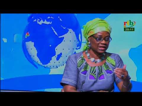 Rtb - Hadizatou Rosine Coulibaly / SORY, Ministre des Finances est l'invitée du 20h du 20 mai 2018