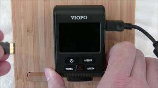 VIOFO A119S Firmware update from https://www.dashcamscentral.com.au/