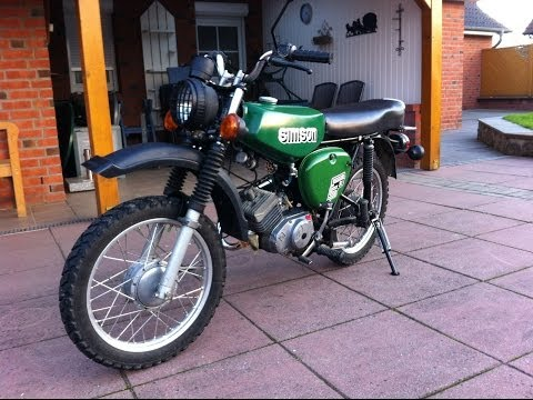 simson s51 enduro cross restauration umbau youtube. Black Bedroom Furniture Sets. Home Design Ideas