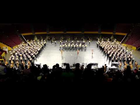 2015 ASU Marching Band - Pass in Review (Nov 24)
