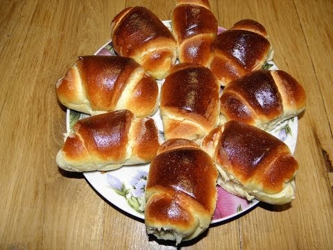 Сладкие булочки из дрожжевого теста