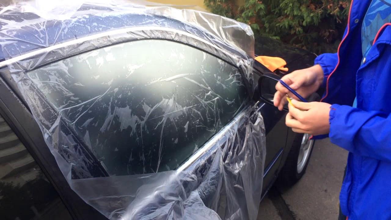 Как правильно тонировать машину своими руками фото 187
