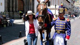 En la vieja ciudad de Quito (Ecuador)
