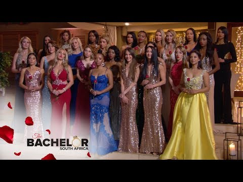 The Very First Rose Ceremony | The Bachelor SA | M-Net