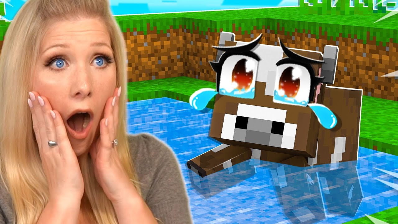 Download Minecraft but I'm Saving Baby Animals...