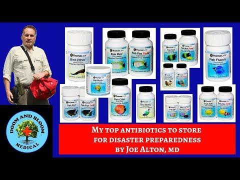 My Top Antibiotics To Store For Preparedness, By Dr. Joseph Alton