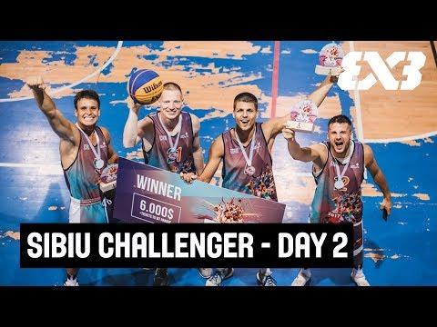 FIBA 3x3 Sibiu Challenger 2017 - Day 2 - LIVE