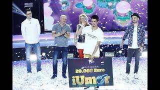 """Andrei Cojocaru este câștigătorul celui de-al cincilea sezon """"iUmor""""!"""