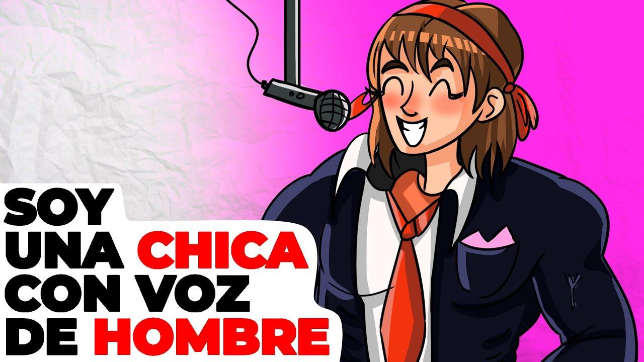 Soy una chica con voz de hombre | Historia animada acerca de mi concierto