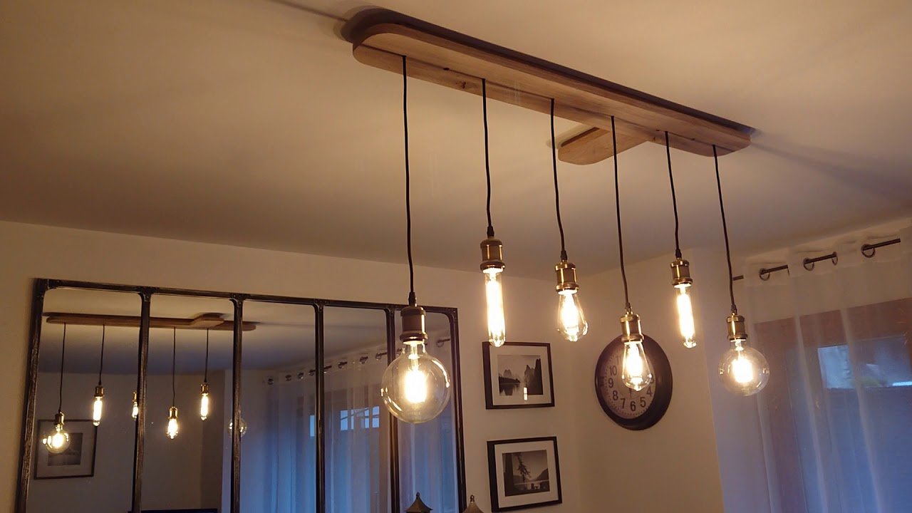 Fabriquer Une Lampe Style Industriel fabriquer un lustre industriel soi même