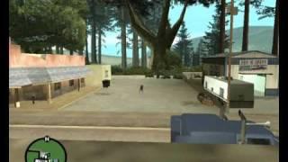 GTA SA Tricking mod stunt's ;D