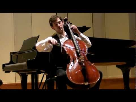 London Master Classes Young Master Concert 2011 - Aleksei Kiseliov, cello (Belarus)